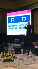 Gerry Plana's Keynote address on Day 1: become a people first organization