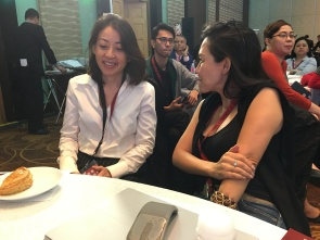 Rosaline Chow Koo and Lynette Ng: two female CEOs in HR tech, bonding. Inspiring and being inspired.