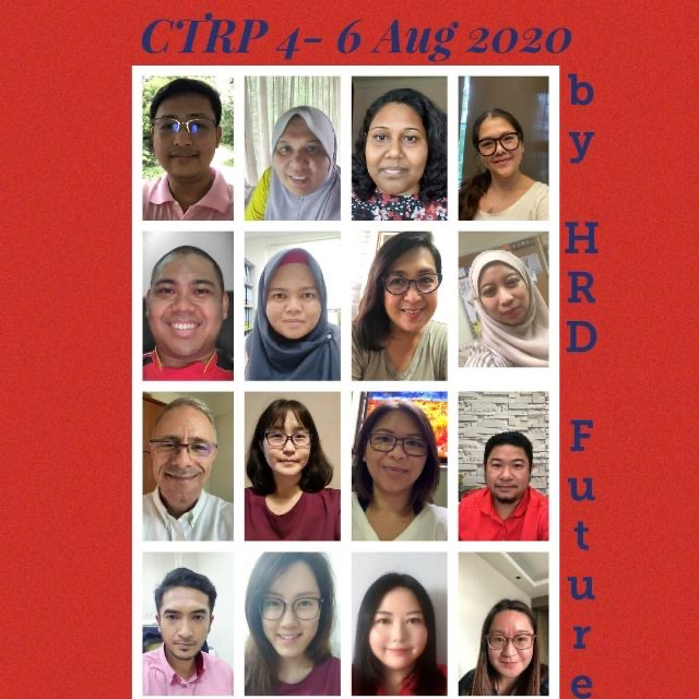 Group Photo CTRP-V HRD 4-6 Aug 2020