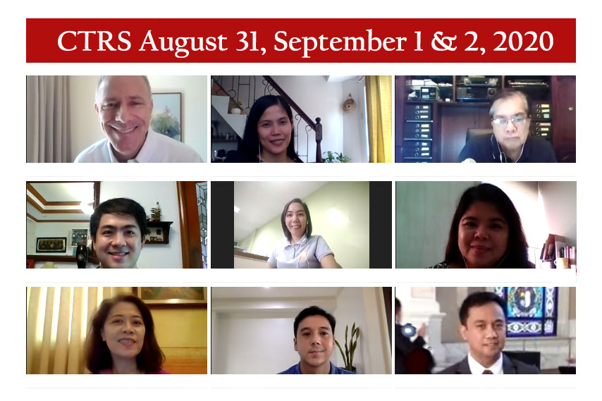 CTRS Aug 31 Sept 1 2 2020