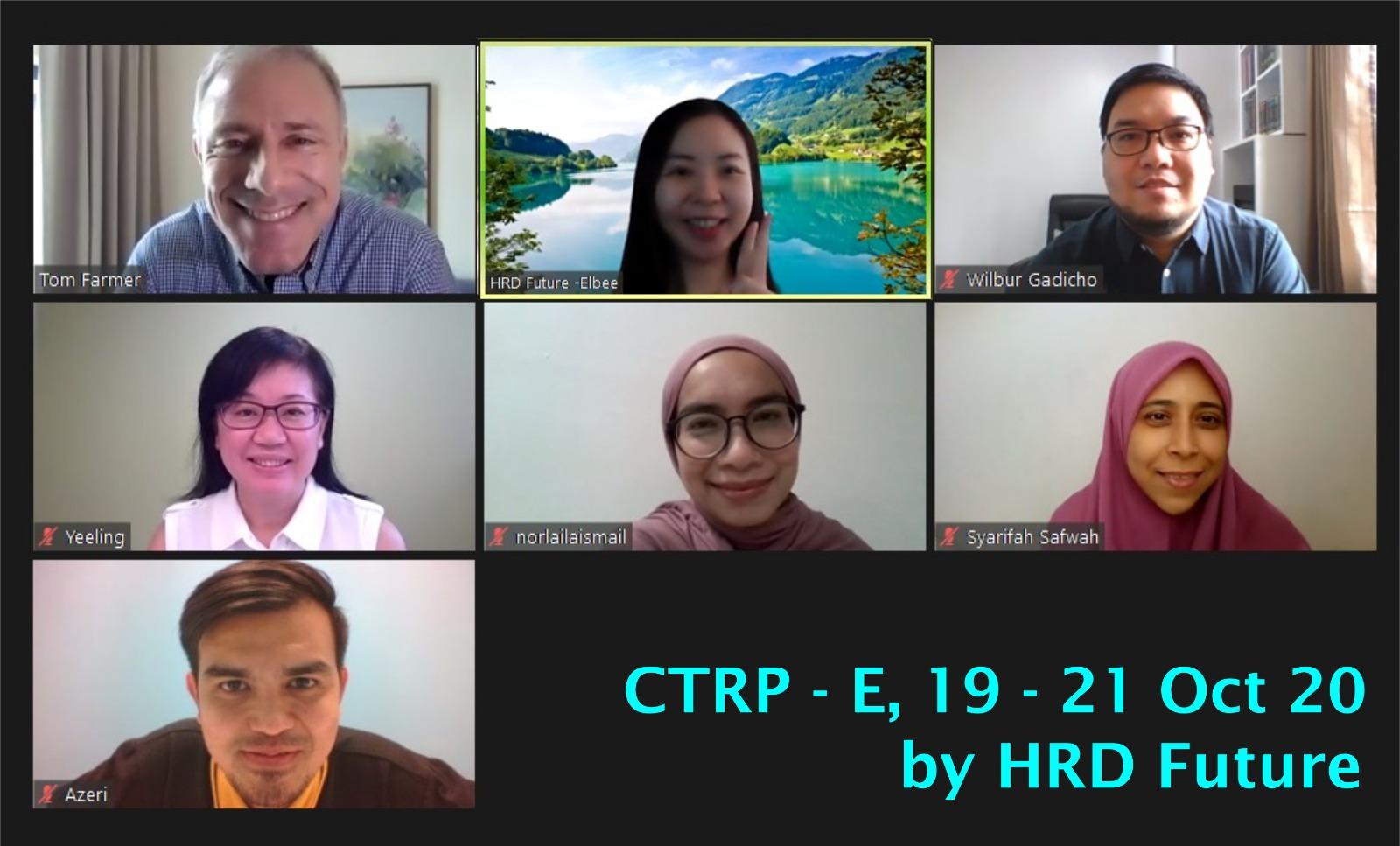 Group Photo CTRP (HRD) 2020 10 21